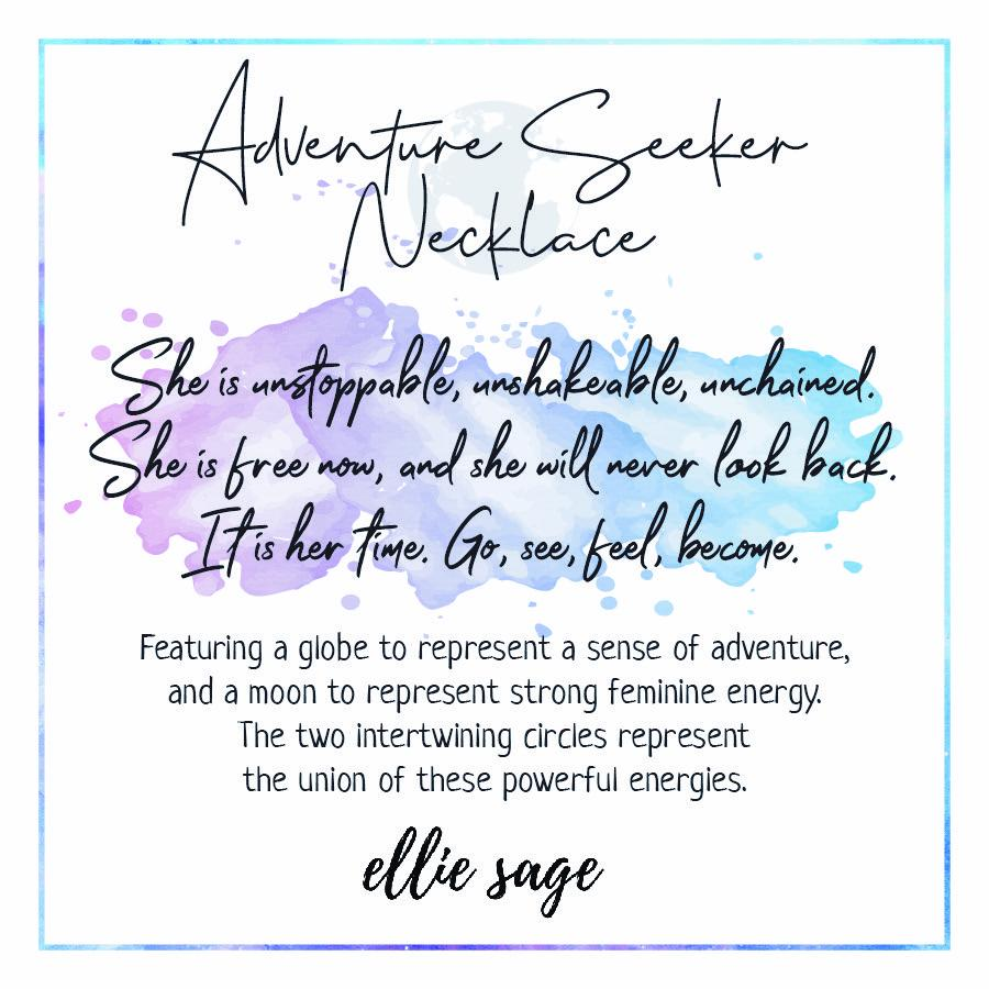 Adventure Seeker Multi Layered Necklace Necklace Ellie Sage