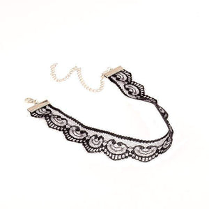 Awaken Lace Choker Necklace Ellie Sage