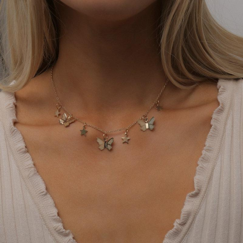 """Endless Possibilities"" Butterfly Necklace Necklace elliesage"