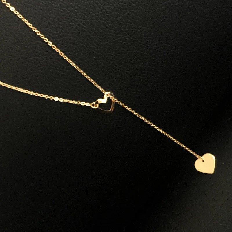 Full of Love Lariat Necklace Necklace elliesage