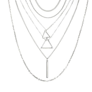 Sovereign Strength Layered Necklace Necklace Ellie Sage