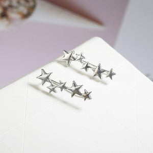 Starlight Ear Crawlers Earrings Ellie Sage