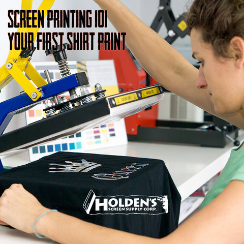your first silk screen printing project