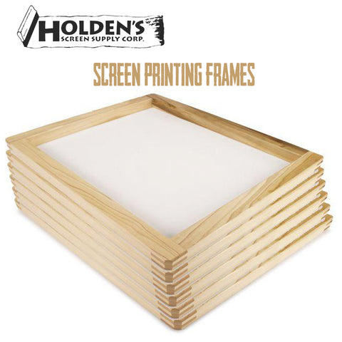Holden's wooden screens for printing