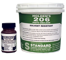 Holden's 206 Purple Diazo Photo Emulsion for plastisol printing