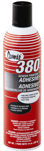 Camie 380 Screen Printers Adhesive