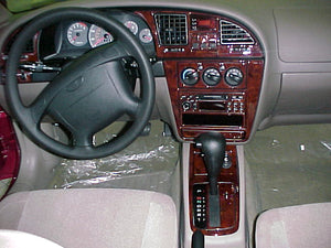2000-2002 Daewoo Nubira Wood Grain Dash Trim Kit - DirectCarTrim