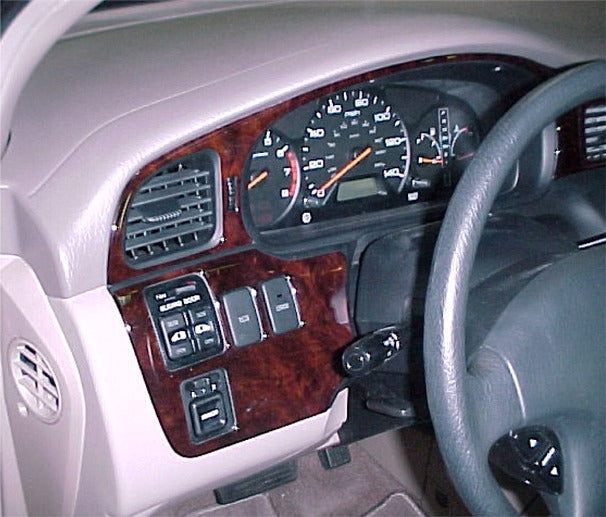 1999-2004 Honda Odyssey Wood Grain Dash Trim Kit - DirectCarTrim