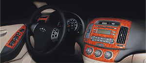 2007-2008 Hyundai Elantra Wood Grain Dash Trim Kit - DirectCarTrim