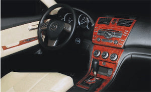 2009+ Mazda 6 Wood Grain Dash Trim Kit - DirectCarTrim