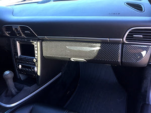 2005-2008 Porsche 997 Real Carbon Fiber Dash Trim Kit - DirectCarTrim