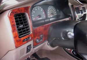 1996-1998 Toyota 4-Runner Wood Grain Dash Trim Kit - DirectCarTrim