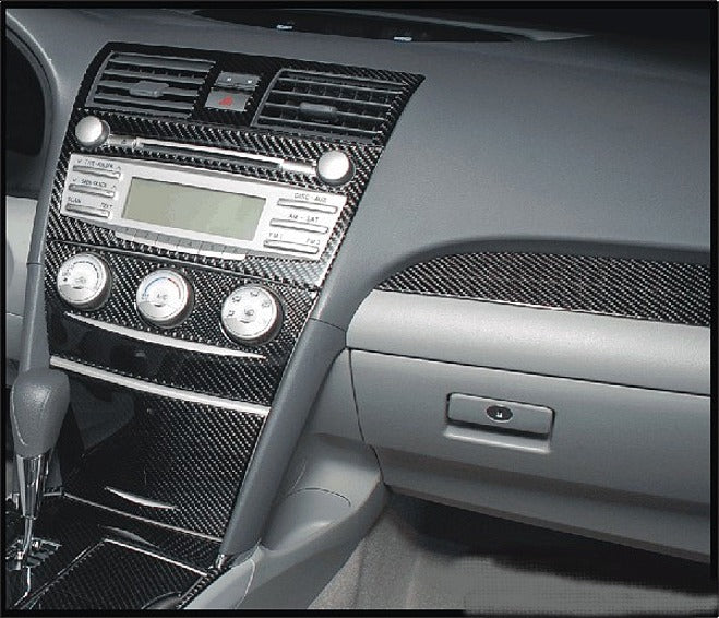 2007-2009 Toyota Camry Real Carbon Fiber Dash Trim Kit - DirectCarTrim
