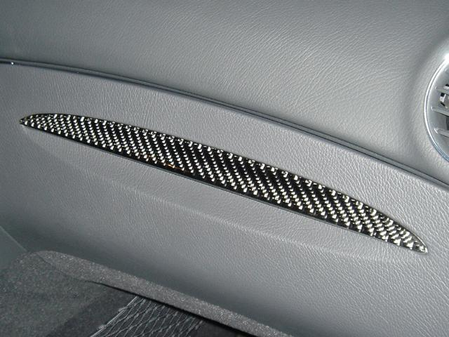 2005-2009 Mercedes Benz CLK Real Carbon Fiber Dash Trim Kit - DirectCarTrim