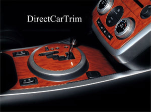 2007-2008 Mazda CX-7 Wood Grain Dash Trim Kit - DirectCarTrim