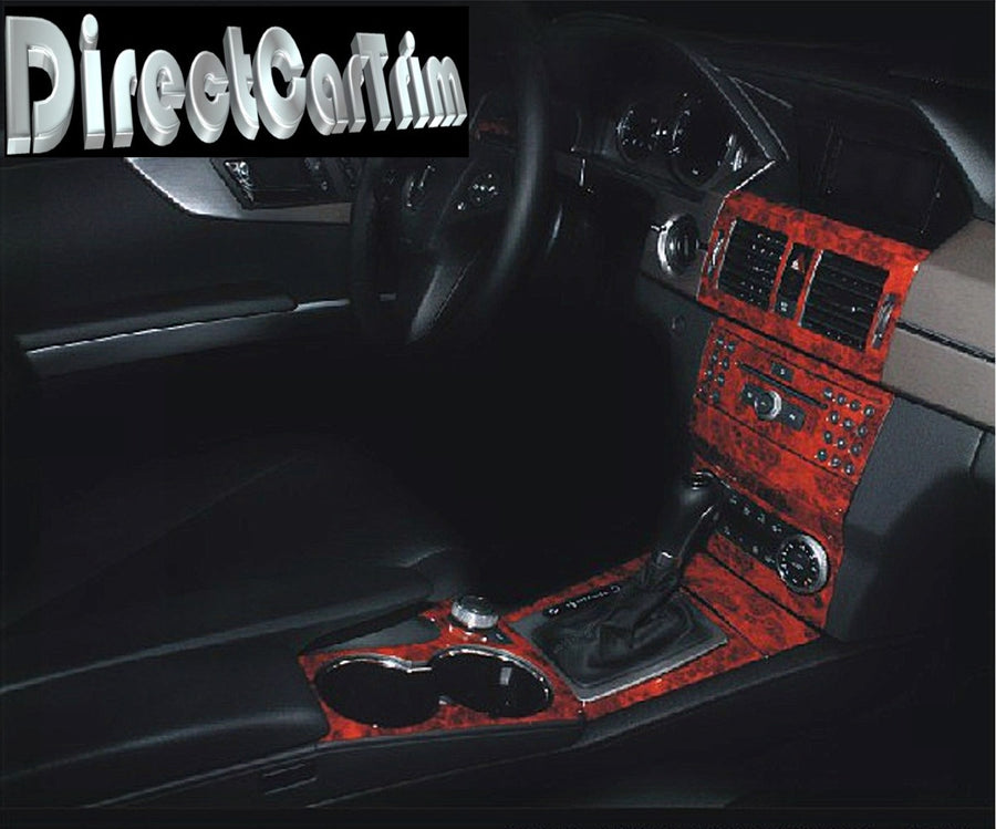 2010-2011 Mercedes Benz GLK Wood Grain Dash Trim Kit - DirectCarTrim