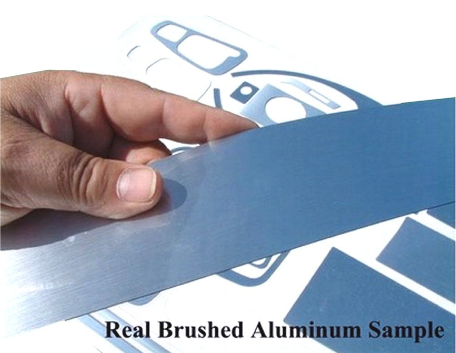 Real Brushed Aluminum - DirectCarTrim