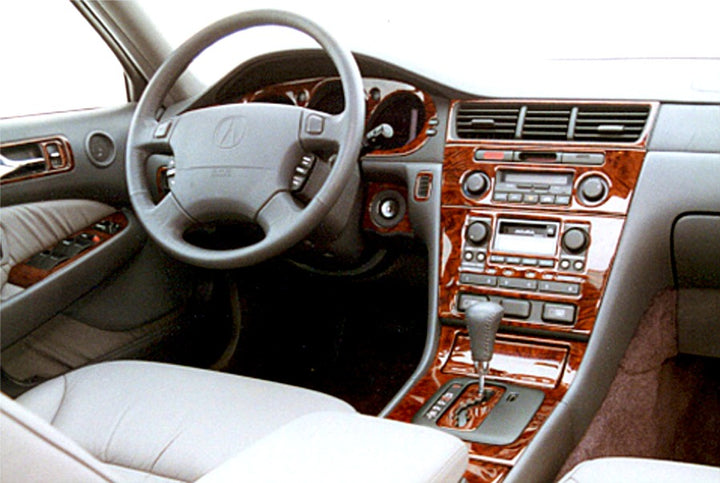 1997-2000 Acura RL Wood Grain Dash Trim Kit - DirectCarTrim
