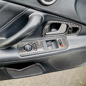 2004-2009 Honda S2000 Real Carbon Fiber Dash Trim Kit - DirectCarTrim