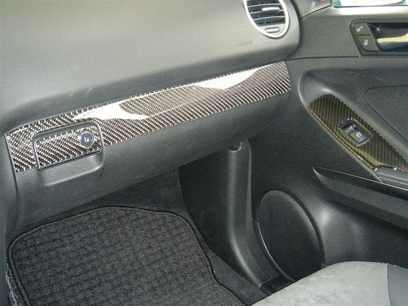 2006-2008 Mercedes Benz ML Real Carbon Fiber Dash Trim Kit - DirectCarTrim