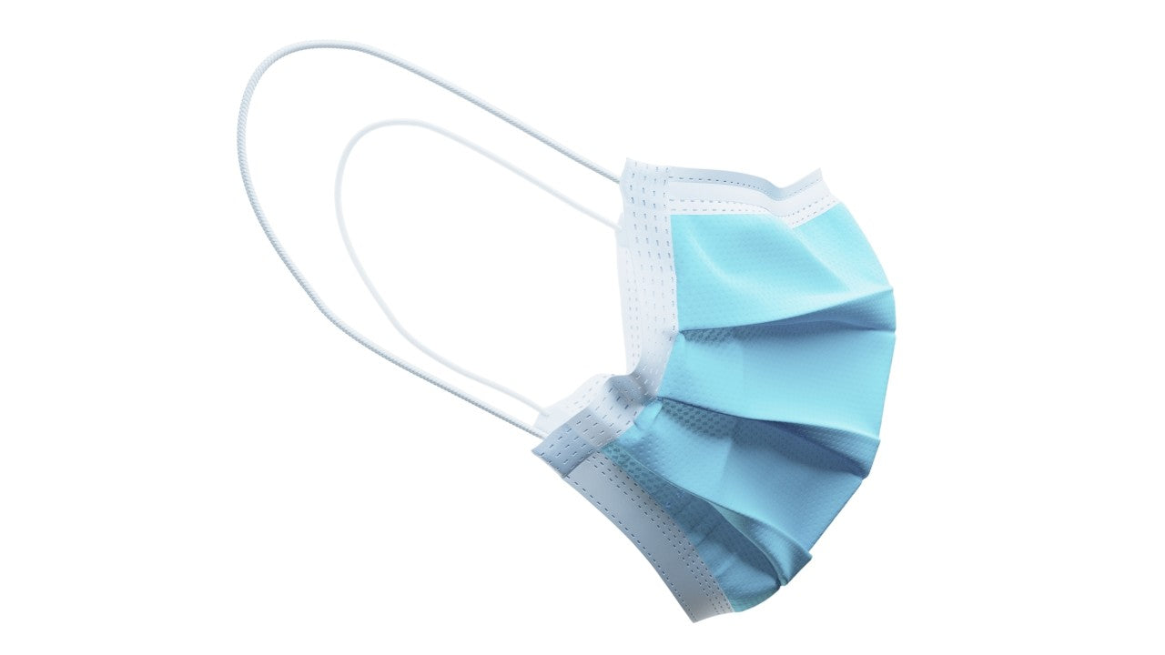3 Ply Disposable Surgical Face Masks with Hypoallergenic Filter