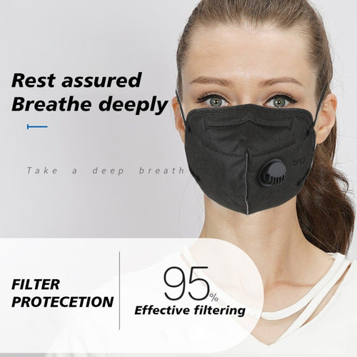 KN95 Facemasks with Valve