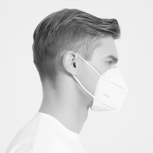 KN95 White Facemasks (1-50pcs)