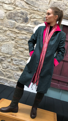 High Fitted Coat (HFC) HOLLY/PINK