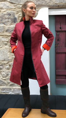 High Fitted Coat (HFC) BERRY/ORANGE