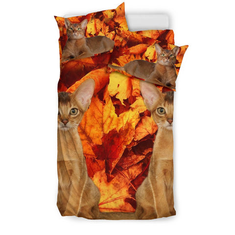 Abyssinian Cat Print Bedding Sets