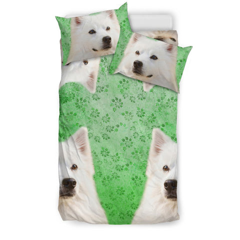 Amazing American Eskimo Dog Print Bedding Set