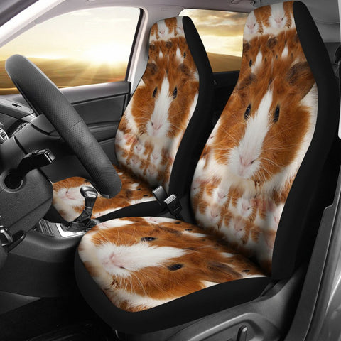 Abyssinian guinea pig Print Car Seat Covers