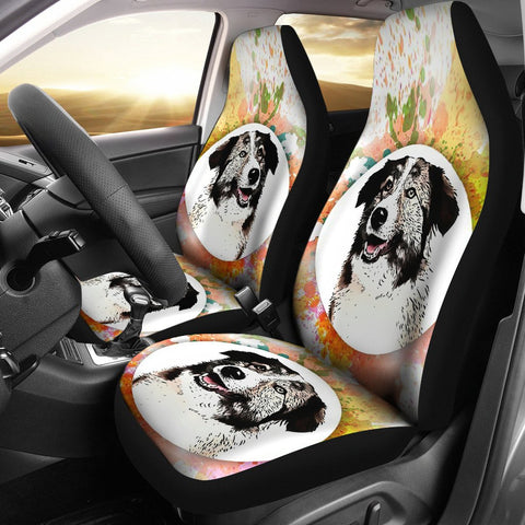 Aidi Dog Print Car Seat Covers
