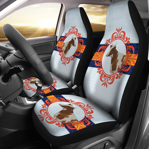 Amazing Ayrshire cattle (Cow) Print Car Seat Covers