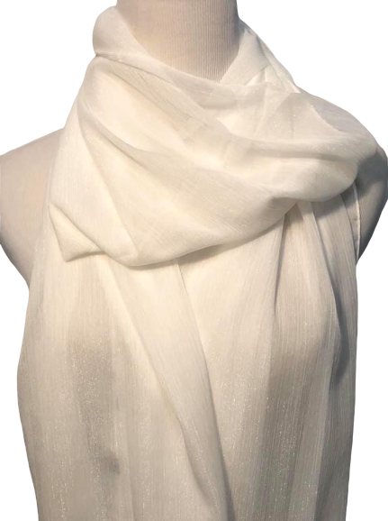 Long Shawl Hijab Wrap Shiny