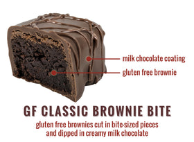 Gluten Free Brownie Bites - 12-Piece