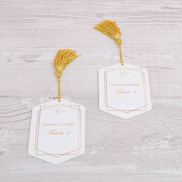 Golden Escort Card