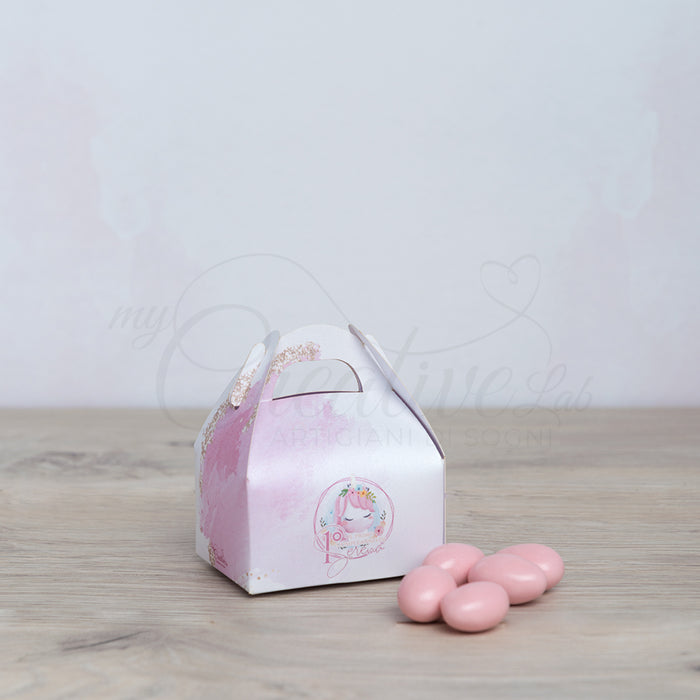 Pink Unicorn Mini Lunch Box