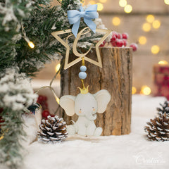 Dreamy Christmas Elephant