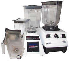 Vita Mix and Blendtec Blenders with Alterna Jars and broken container