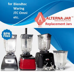 Alterna Jar and Blades and Universal Tampers