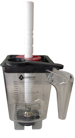 Alterna Jar with Universal Tamper