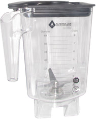 Alterna Jar fits Waring 3.5 hp Blenders - 80 oz with exchangeable blending assembly