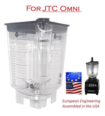 Alterna Jar fits JTC Omniblend Blenders - 80 oz with exchangeable blending assembly
