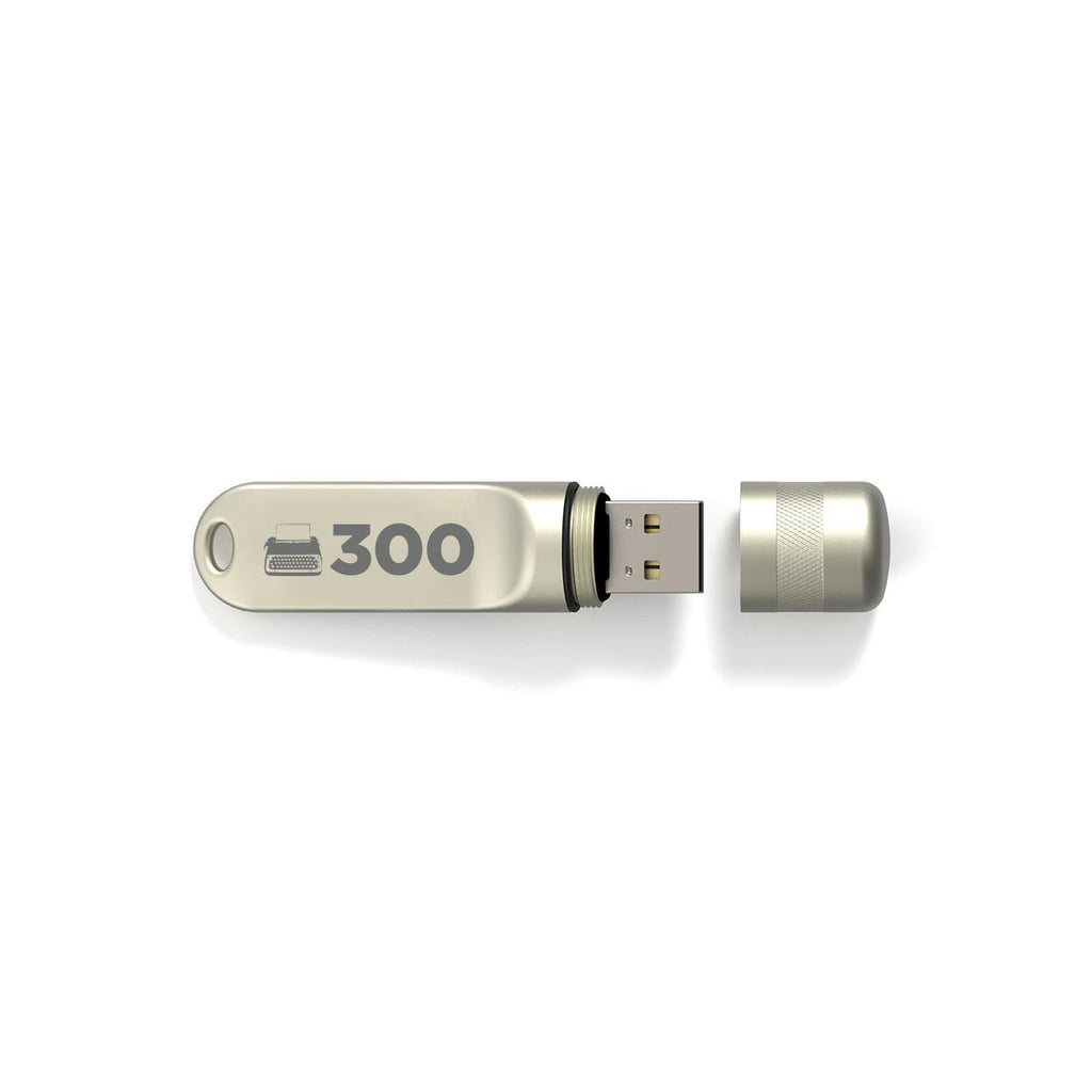 300-episode Scriptnotes USB Flash Drive