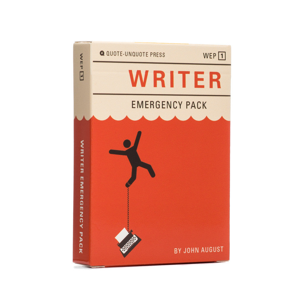Writer Emergency Pack Wholesale Case (12 decks) - For retail partners only