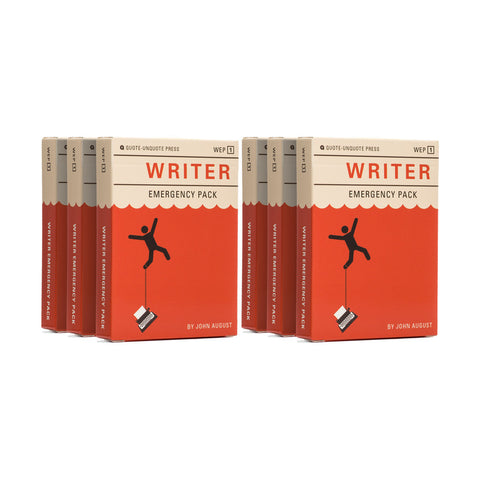 Writer Emergency Pack (6 decks)