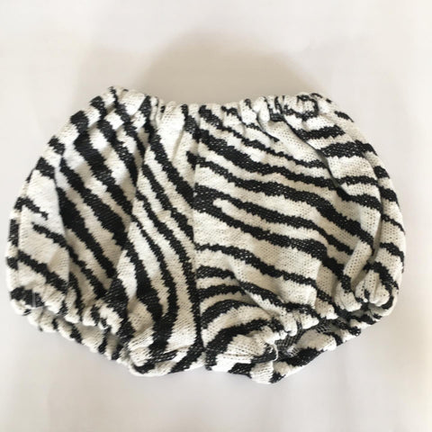 Bloomers i zebra look str.9-18 mdr. - TrikkerDesign