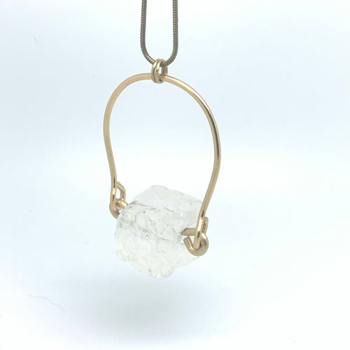 Iced Out Quartz Necklace
