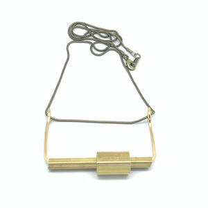 Kinetic Hexagon Necklace